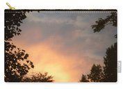 Framed Fire In The Sky Carry-all Pouch
