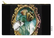 Framed Flowers Carry-all Pouch