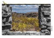 Framed In Black And White Carry-all Pouch