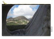 Framed In Wood Carry-all Pouch