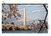 Framed With Blossoms Carry-all Pouch