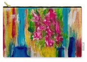 Framing Petals Carry-all Pouch