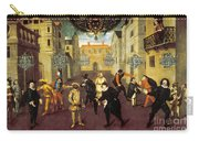 France: Comedy, 1670 Carry-all Pouch