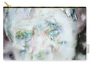 Francis Bacon - Watercolor Portrait.2 Carry-all Pouch
