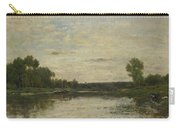 Francois Daubigny   View On The Oise Carry-all Pouch