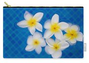 Frangipani Flowers In Water Carry-all Pouch