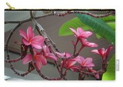 Frangipani Flowers Carry-all Pouch