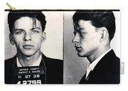 Frank Sinatra Mug Shot Horizontal Carry-all Pouch