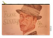 Frank Sinatra - The Voice Carry-all Pouch