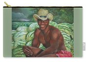 Frank The Watermelon Man Carry-all Pouch