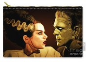Frankenstein And The Bride I Have Love In Me The Likes Of Which You Can Scarcely Imagine 20170407 Carry-all Pouch