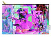 Frankenstein In Abstract Cubism 20170407 Square Carry-all Pouch