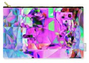 Frankenstein In Abstract Cubism 20170407 Carry-all Pouch