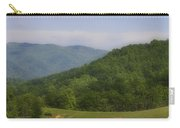 Franklin County Virginia Red Barn Carry-all Pouch by Teresa Mucha