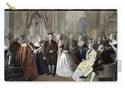 Franklin's Reception At The Court Of France Carry-all Pouch