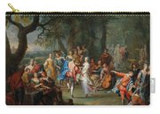 Franz Christoph Janneck Graz 1703-1761 Vienna A Dance In The Palace Gardens, Carry-all Pouch