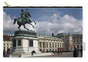 Franz Joseph Equestrian Statue Carry-all Pouch
