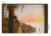 Franz Ludwig Catel  A Monk Meditating In A Cloister Carry-all Pouch