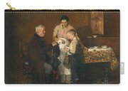 Franz Rumpler  The Letter 1882 Carry-all Pouch