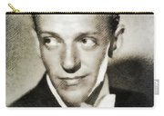 Fred Astaire, Vintage Actor And Dancer Carry-all Pouch