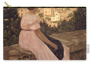 Frederic Bazille   The Pink Dress Carry-all Pouch