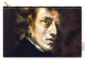 Frederic Chopin Carry-all Pouch by Granger