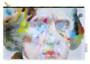 Frederic Chopin - Watercolor Portrait Carry-all Pouch