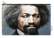 Frederick Douglass And Emancipation Proclamation Painting In Color  Carry-all Pouch
