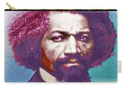 Frederick Douglass Painting In Color Pop Art Carry-all Pouch