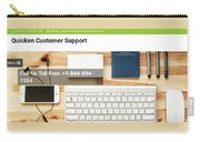 Free And Fast Quicken Customer Support Phone Number @ 1-844-894-7054 Carry-all Pouch