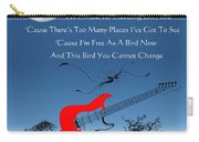Free Bird Carry-all Pouch by Michael Damiani