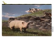 Free Range Pigs Carry-all Pouch