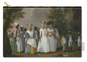 Free Women Of Color With Their Children And Servants In A Landscape Carry-all Pouch