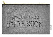 Freedom From Oppression Carry-all Pouch
