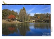 Freedom Park Bridge And Lake In Charlotte Carry-all Pouch