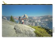 Freedom Woman At Glacier Point Carry-all Pouch