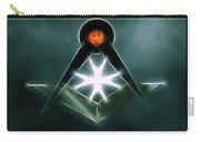 Freemason Symbol By Raphael Terra Carry-all Pouch