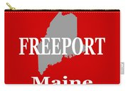 Freeport Maine State City And Town Pride  Carry-all Pouch