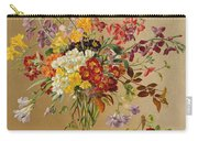 Freesias And Primroses Carry-all Pouch