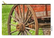 Freight Wagon Wheel Carry-all Pouch
