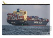 Freighter Headed Out To Sea Carry-all Pouch