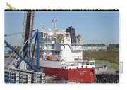 Freighter In Lock Of Saint Lawrence Carry-all Pouch