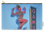Fremont Street Lucky Lady And Gambling Neon Signs Carry-all Pouch