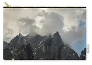 French Alps Peaks Carry-all Pouch