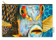 French Angelfish Face Carry-all Pouch