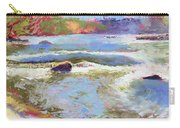 French Broad Rver Overflowing Carry-all Pouch