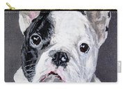 French Bulldog Close Up Carry-all Pouch
