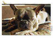 French Bulldog Fierce Look Carry-all Pouch