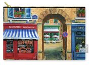 French Butcher Shop Carry-all Pouch
