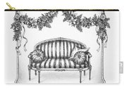French Country Sofa Carry-all Pouch